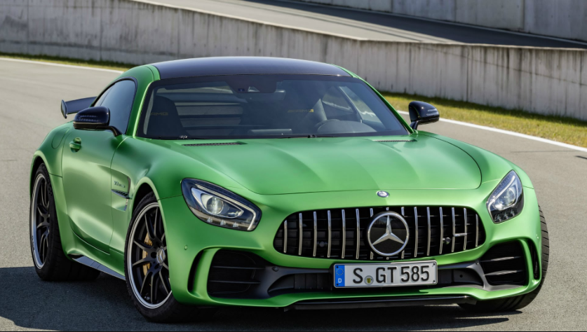 Mercedes AMG GT 2017 Mercedes AMG GT is Luxury Sport Vehicle From