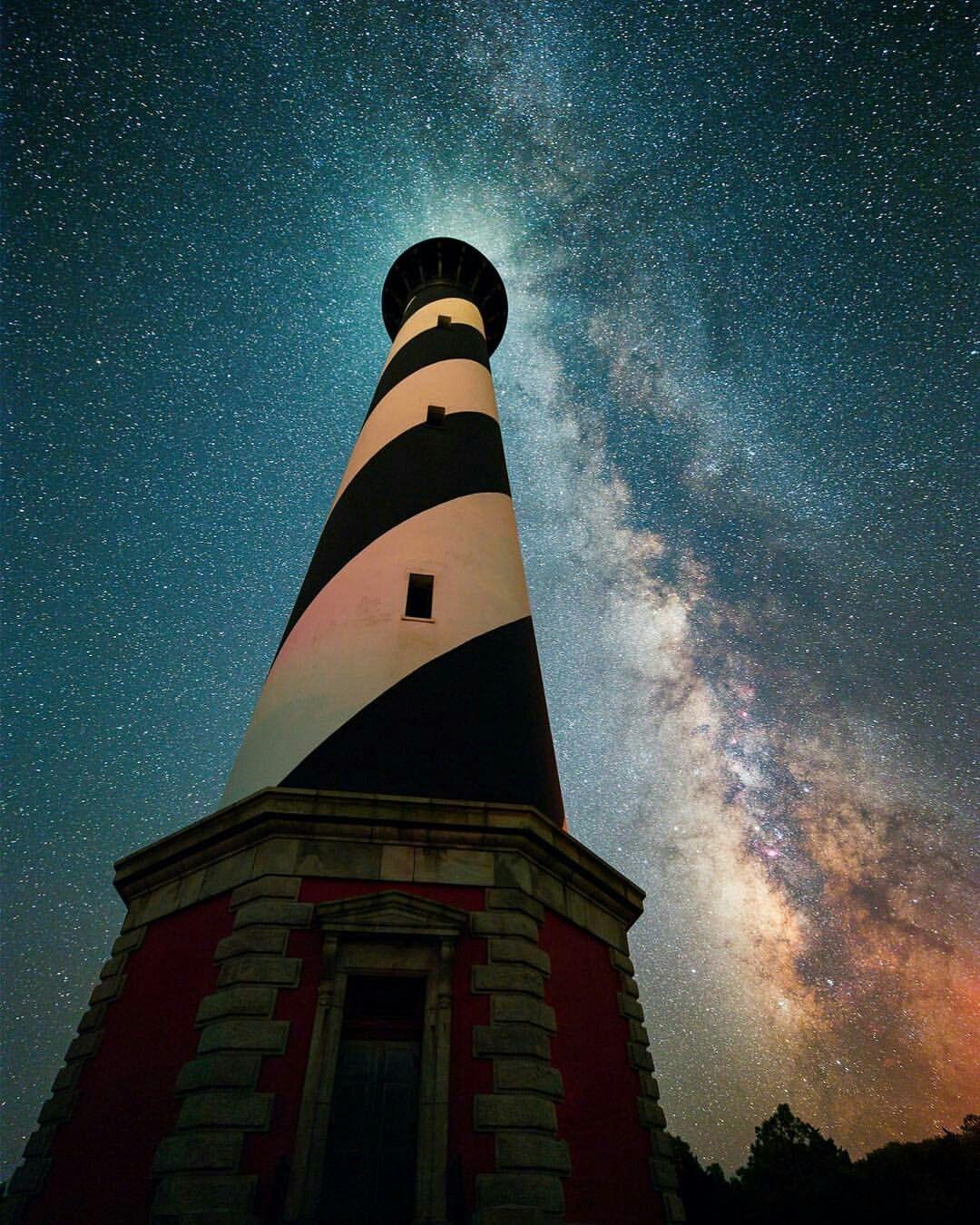 Starry starry night | Sky | Cape hatteras lighthouse ...