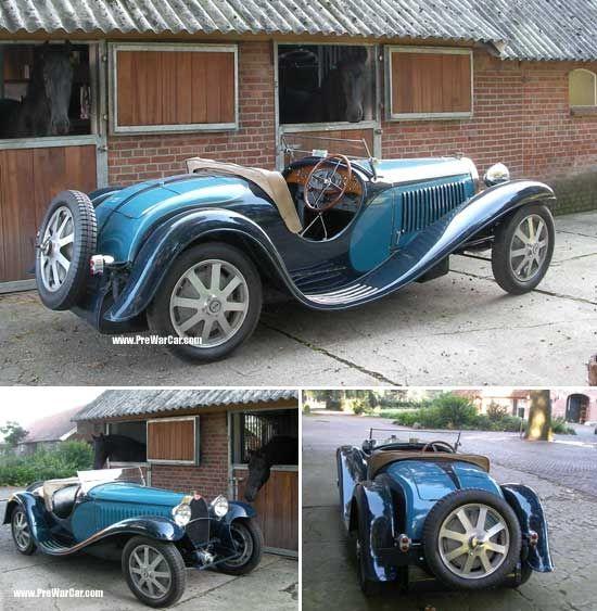 Bugatti Veyron Roadster: Bugatti T55 Super Sport Jean Roadster 1932.