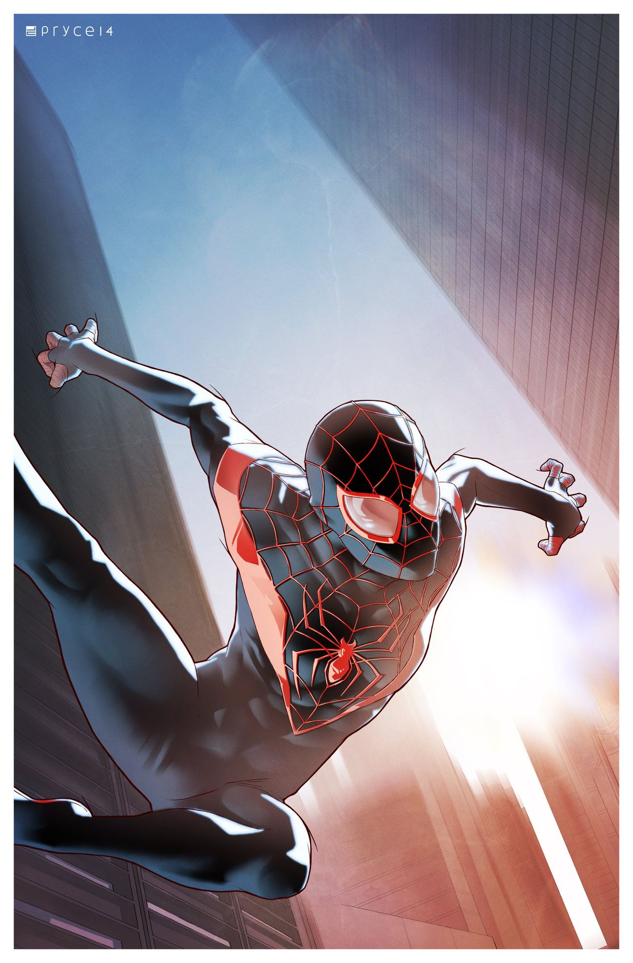 Spider-Man (Miles Morales) by Jamal Campbell