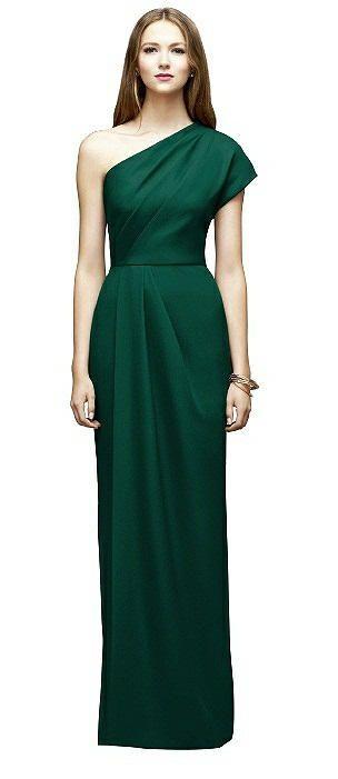 bbaeaf493c9 Lela Rose Style LR217 One Shoulder Bridesmaid Dresses