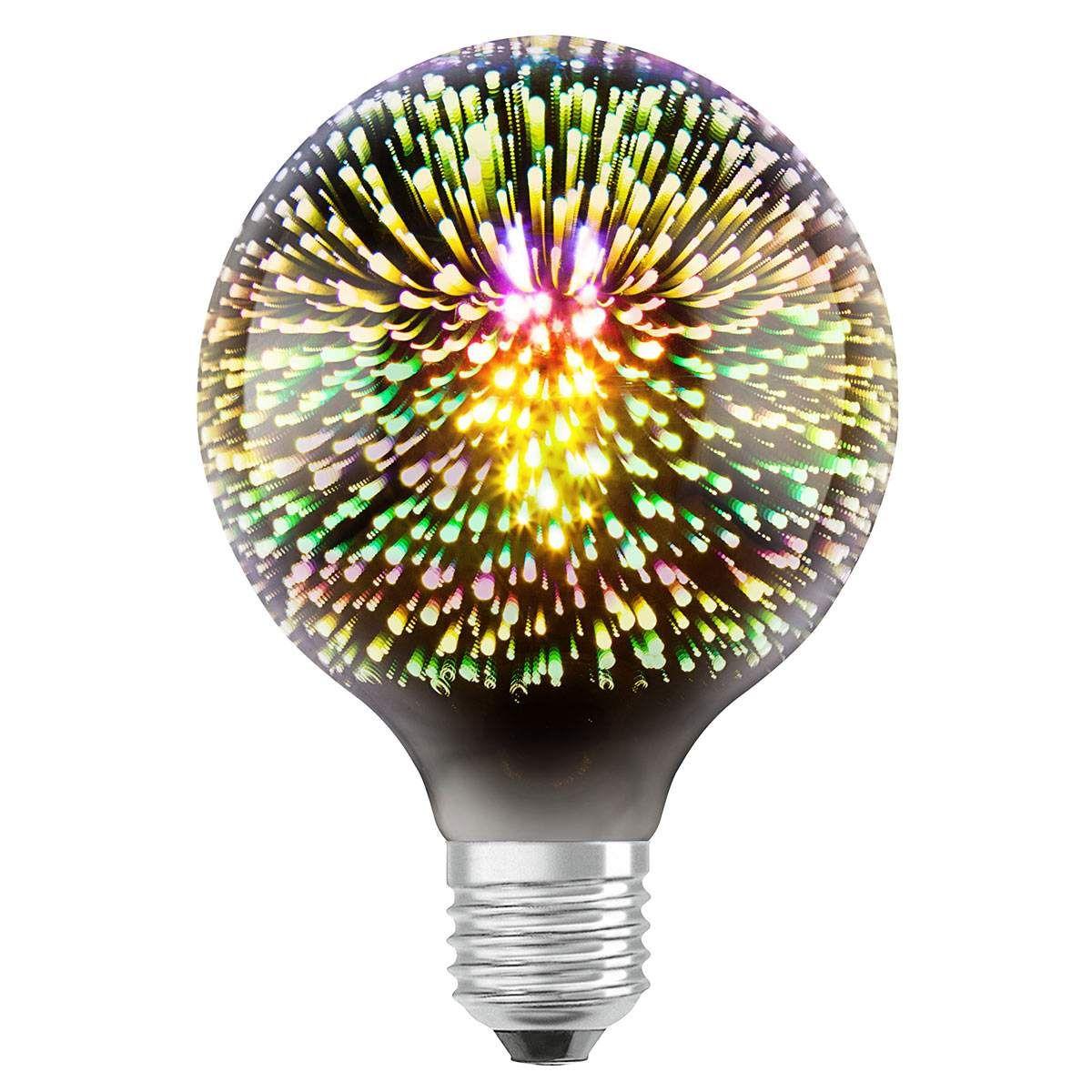 Osram Led Globelampe 3w Star Univers Funkelnd Led Led Lampe