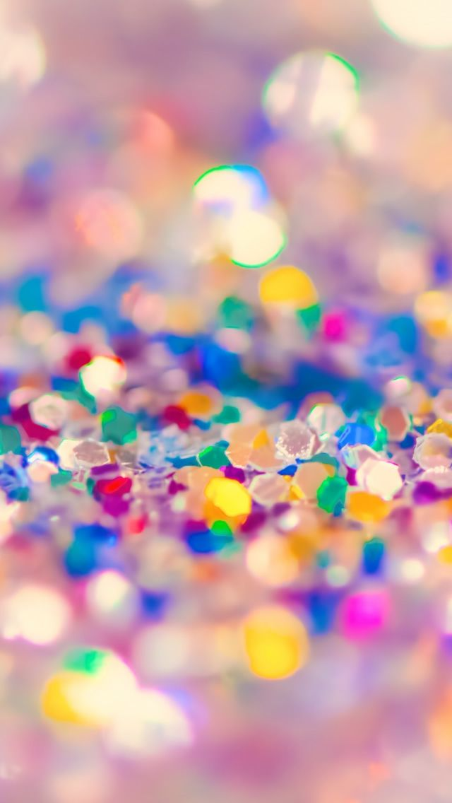 Colorful Glitter Iphone 5s Wallpaper Sparkle Wallpaper