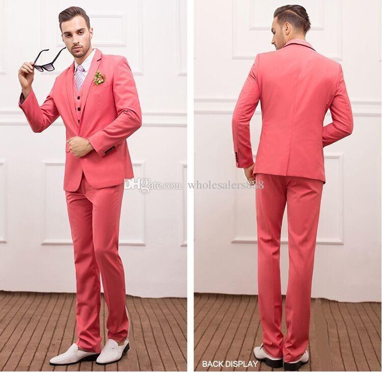 Coral Pants Suit