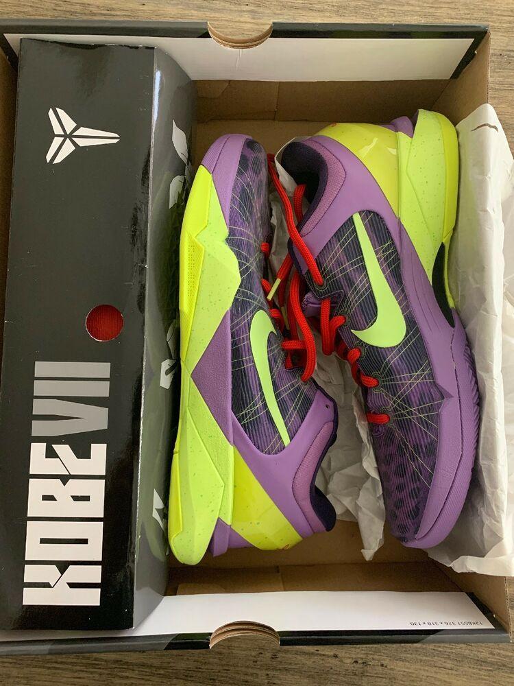 30b8e5adea66 Nike Zoom Kobe VII 7 Supreme Cheetah Christmas 488244-500 100% Authentic   fashion  clothing  shoes  accessories  mensshoes  athleticshoes (ebay link)