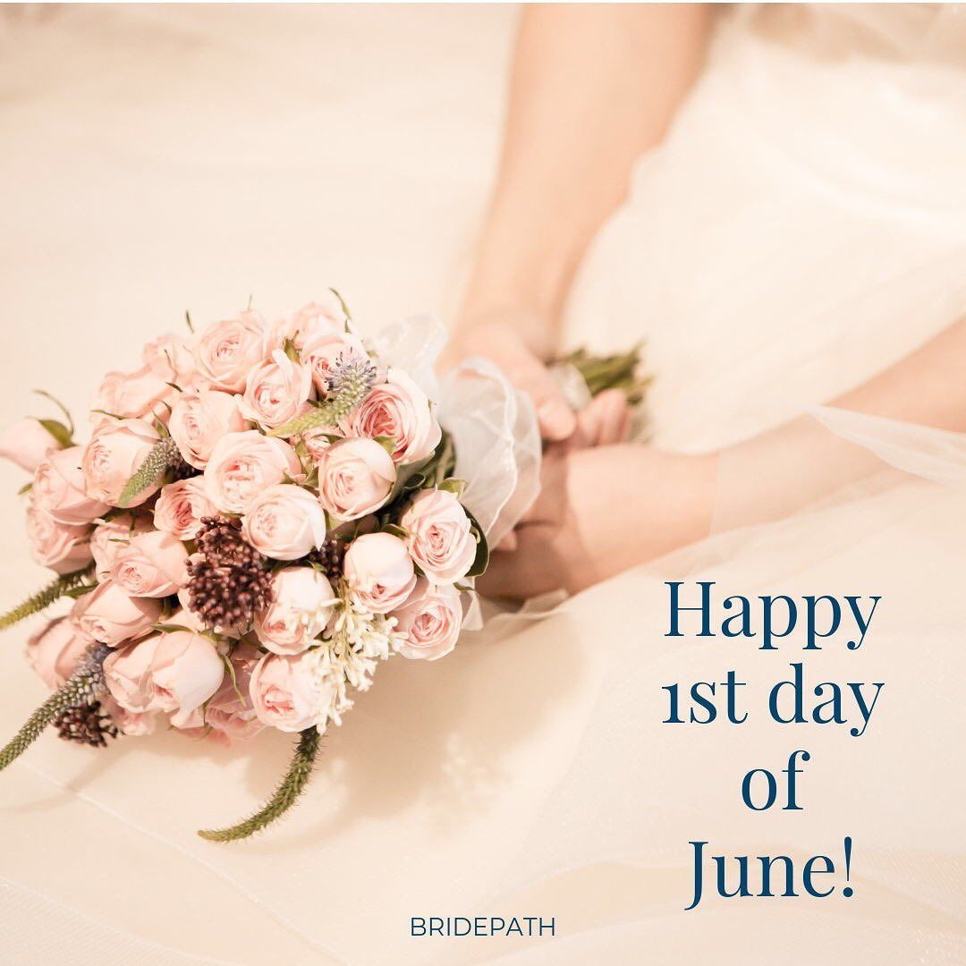 Happy First Day Of June June Used To Be The Iconic Most Popular Wedding Month Did You Know It S Not Anymore T In 2020 Fun Wedding Popular Wedding Wedding Planning