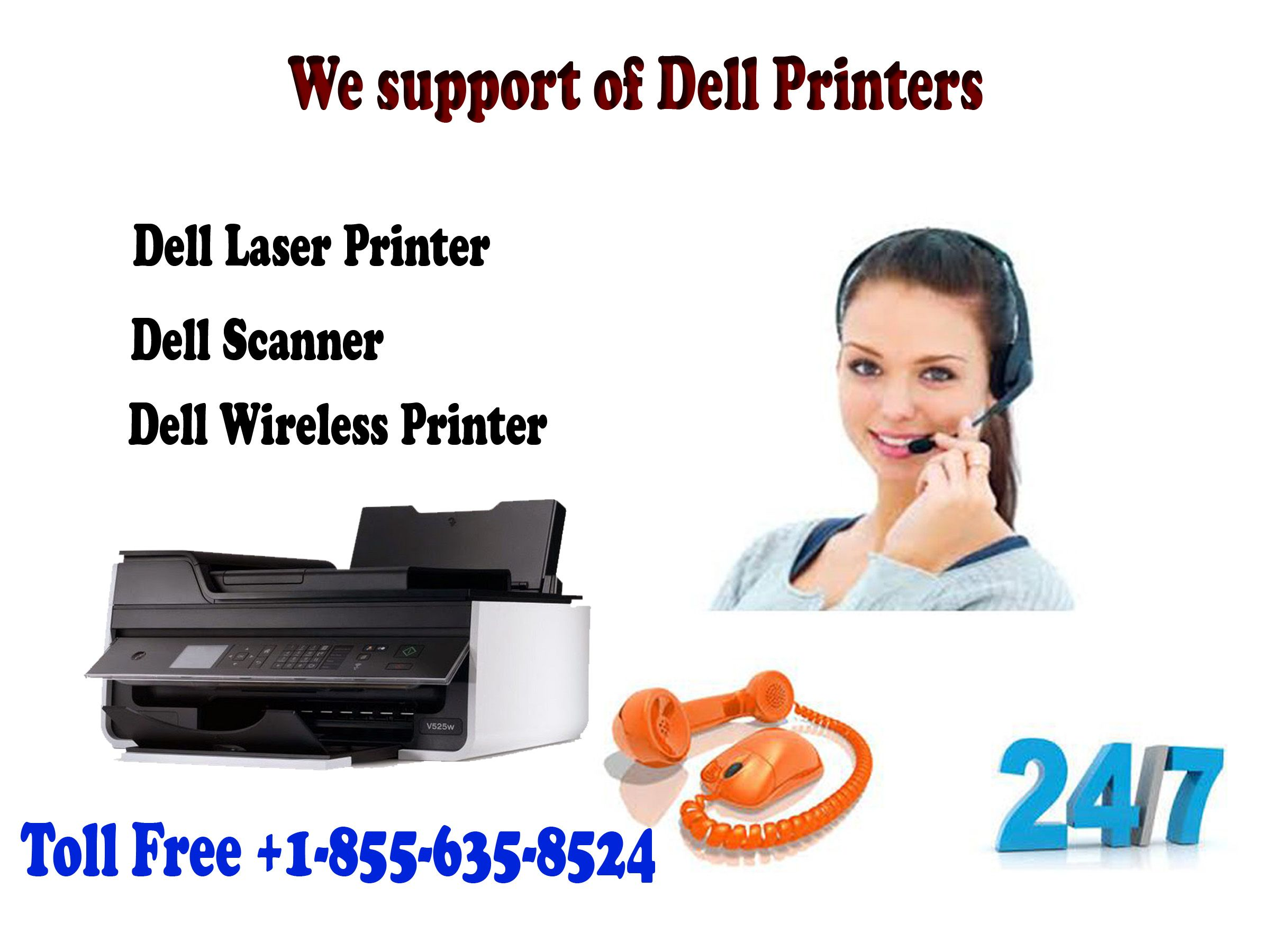 We offer Dell wireless printer setup support available to
