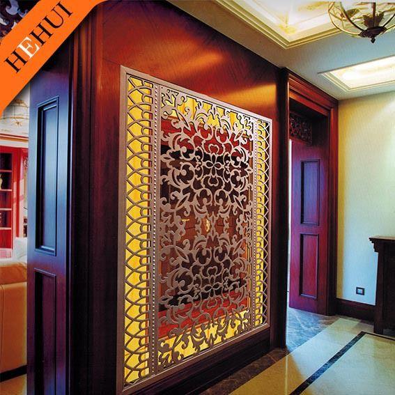 decorative partition screen,restaurant wall divider,antique room