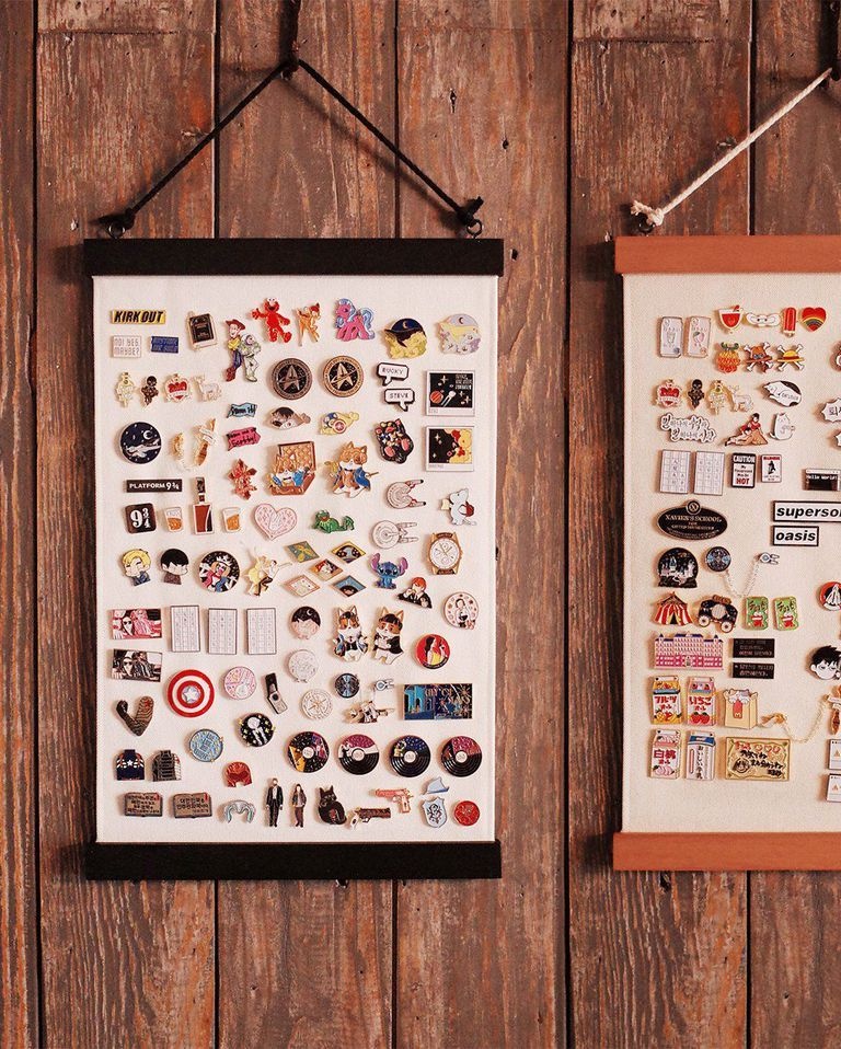 10 Cool Enamel Pin Display Ideas You Need For Your Collection
