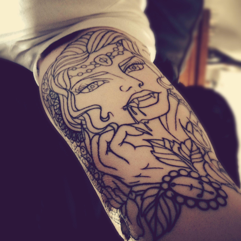 My Vampire Tattoo...work In Progress