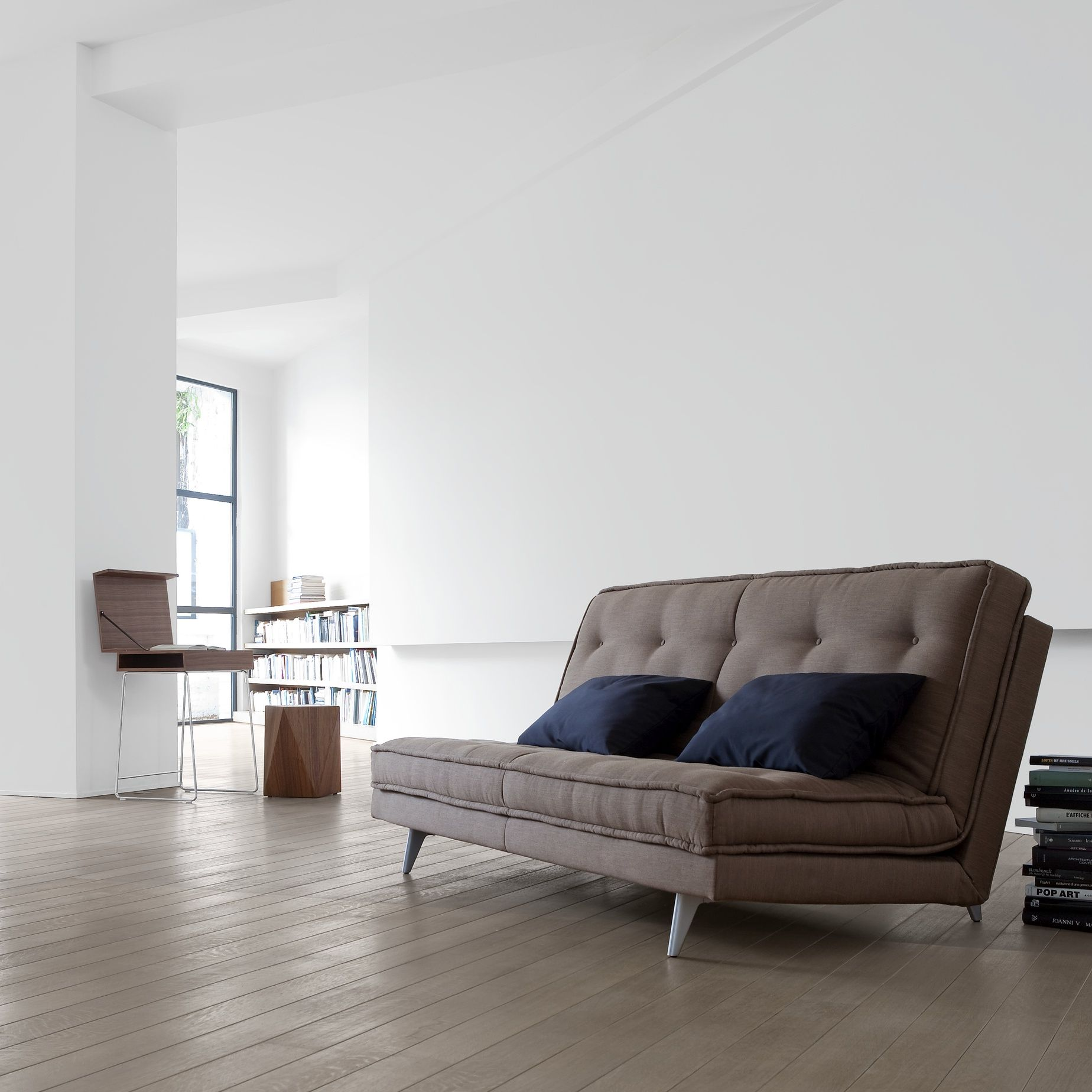 Design Schlafsofa Ligne Roset nomade express sofa beds designer didier gomez ligne roset