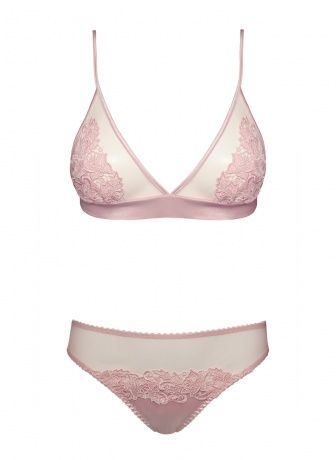 9a14f9fe6 Fleur of England Blush pink Boudoir bra and brief