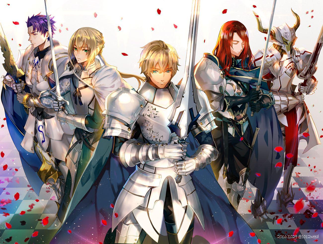 By Jinna Fate Anime Series Fate
