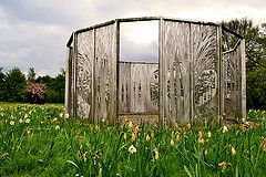 Forest Screens, Glenrothes (Ashleyarr-) Tags: sculpture art malcolm robertson glenrothes ashleyroy