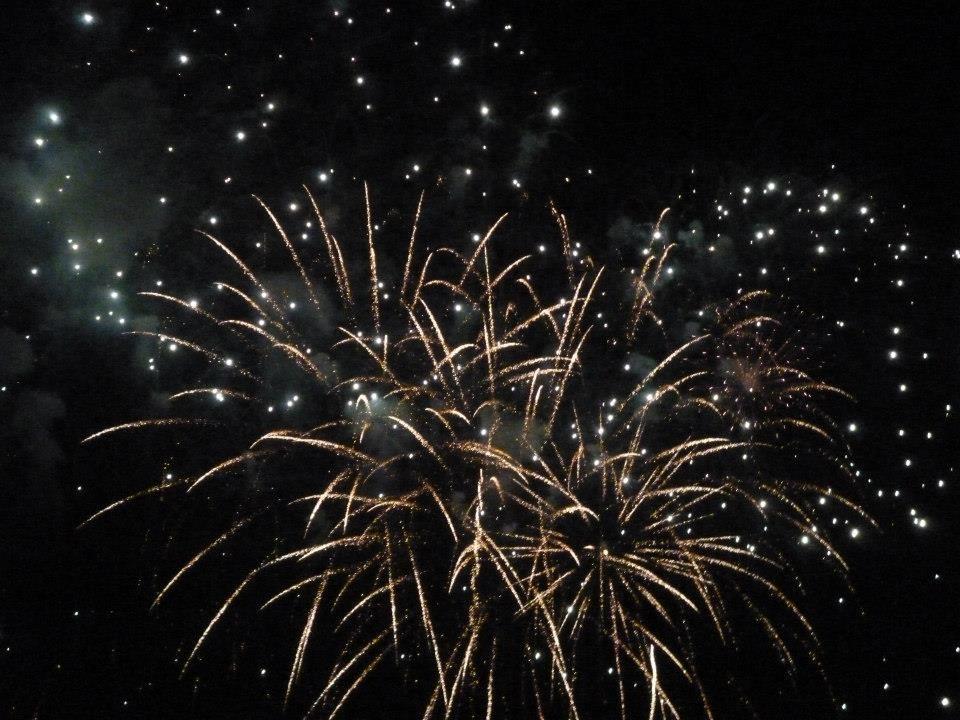 Venice Fireworks News Years Eve 2012