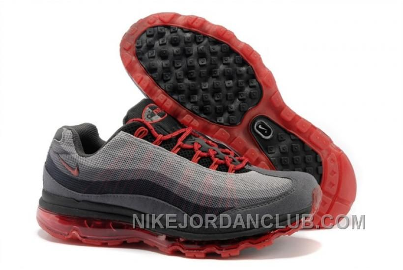 nike air max black red and white wires