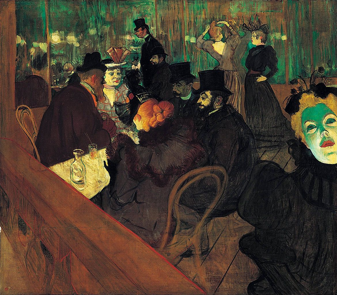 Henri de Toulouse-Latrec, At the Moulin Rouge, 1892-1893
