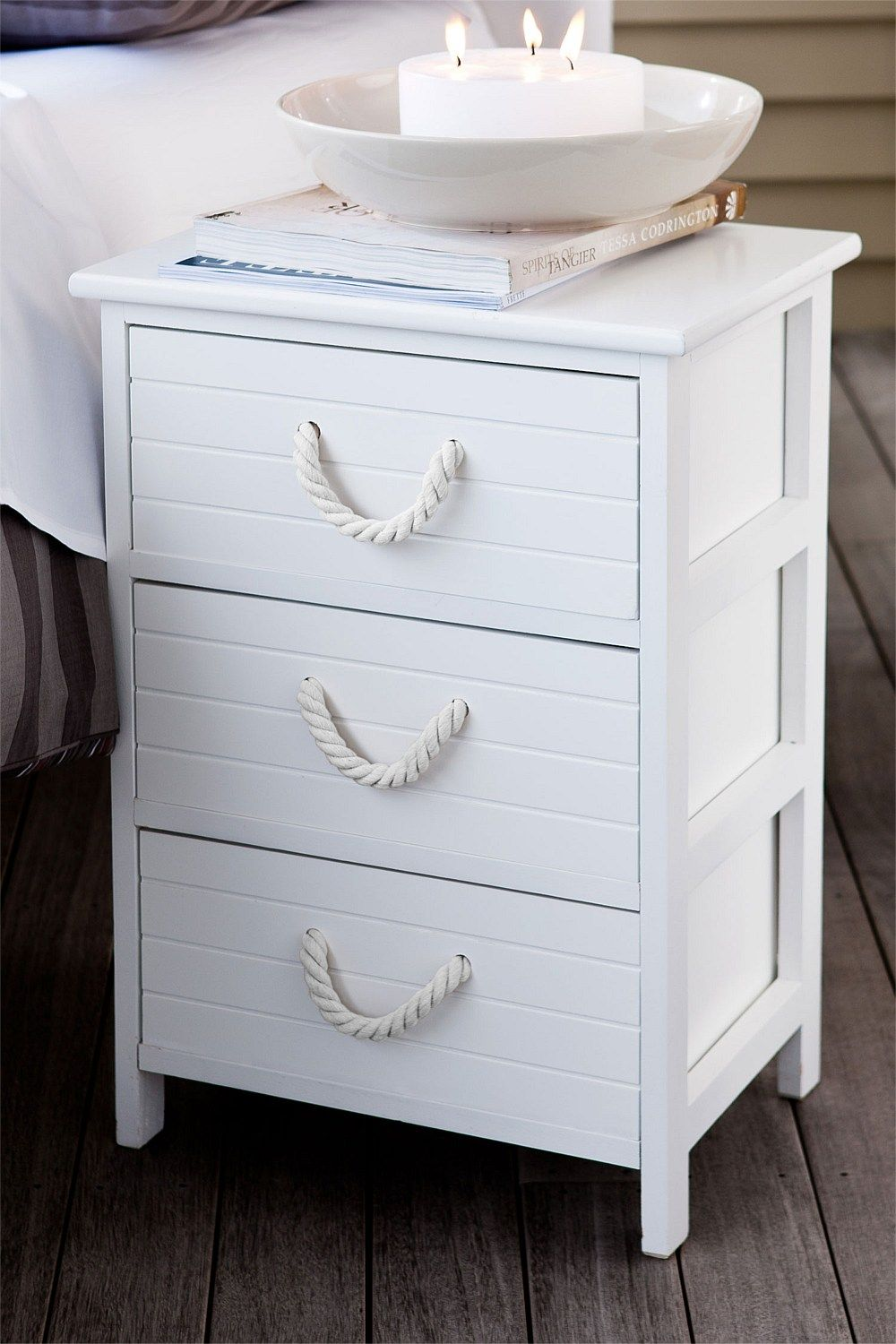 Best Furniture Savoy Bedside Table Nautical Home Beach 640 x 480