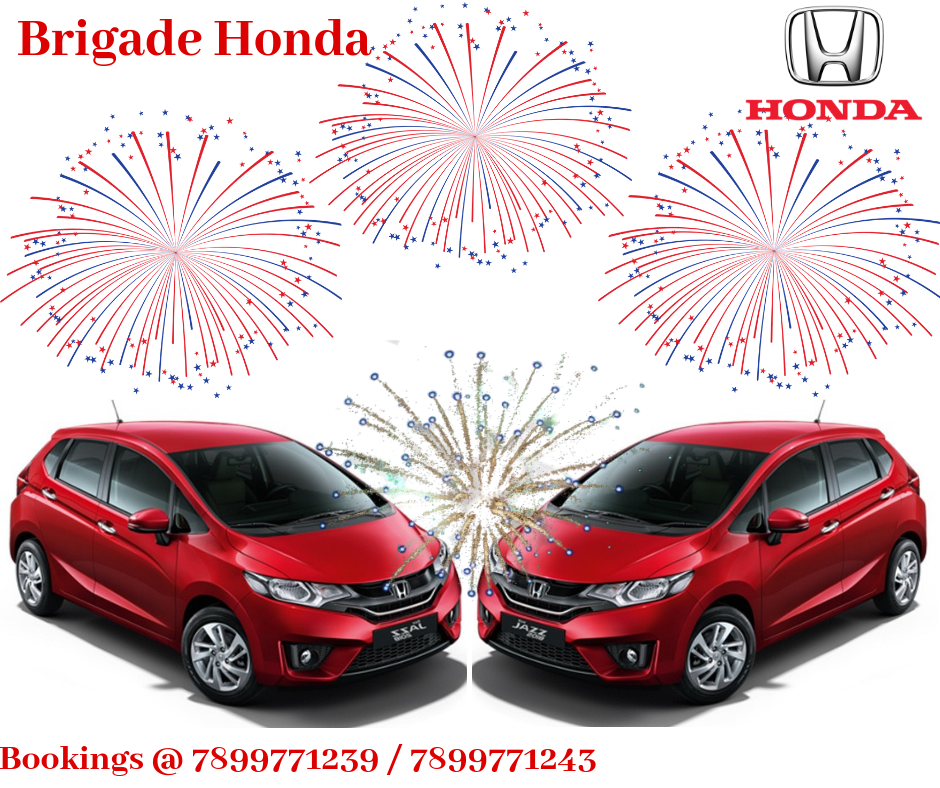 Unbelievable Offer At Brigade Honda Buy The All New Honda Jazz