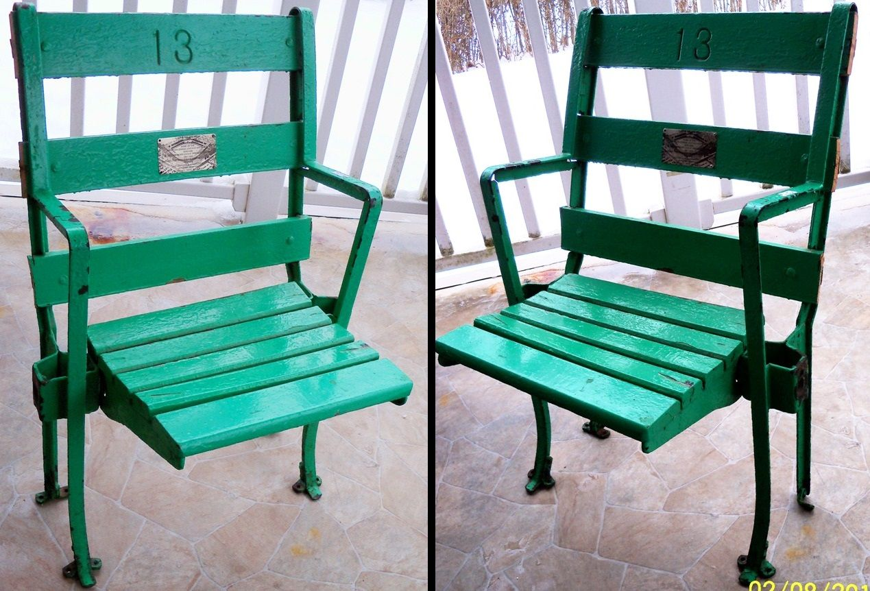 Excellent Comiskey Park Seats Outdoor Furniture Sets White Stool Onthecornerstone Fun Painted Chair Ideas Images Onthecornerstoneorg