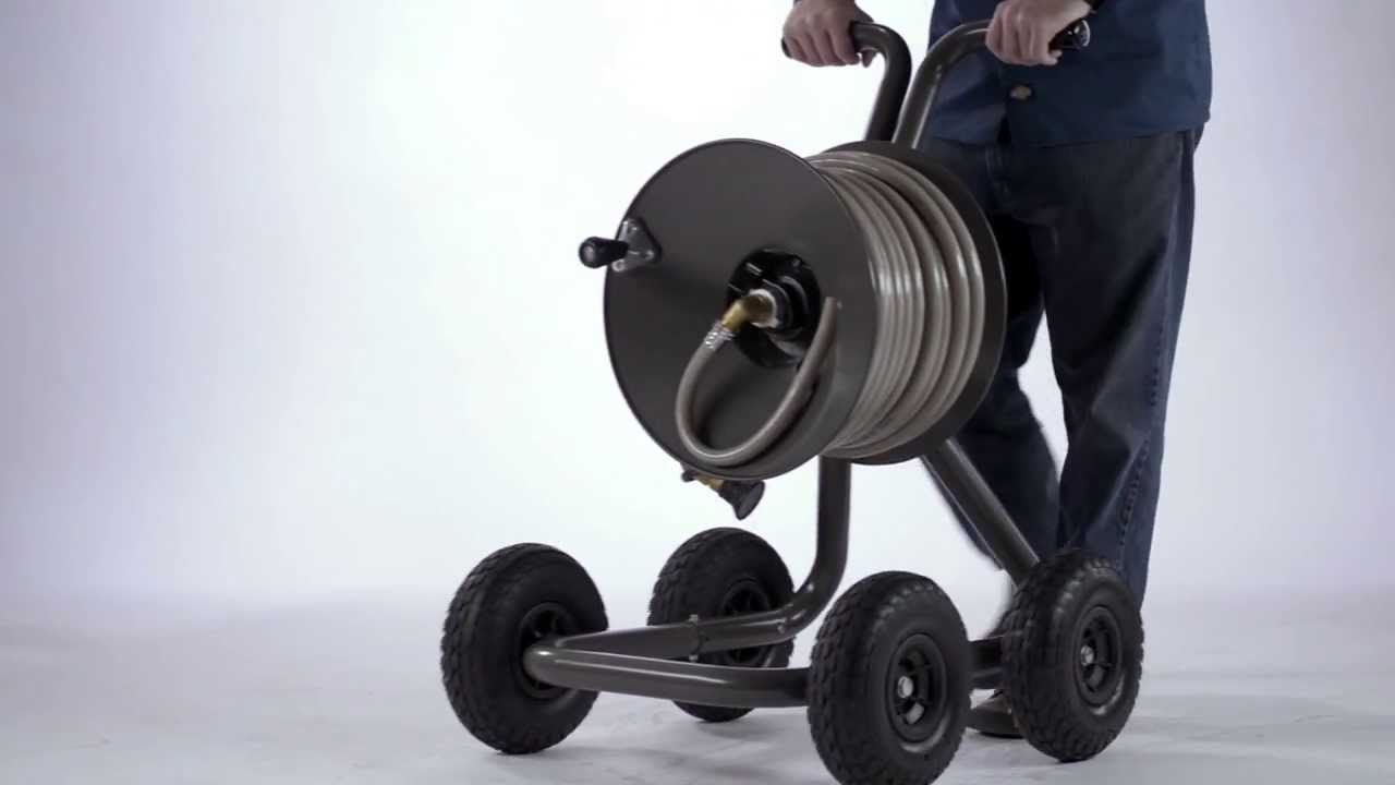 Eley Garden Hose Reel   One Of The Most Overlooked Areas In Your Lawn Has  To Function As The Backyard Hose. The Hose Just