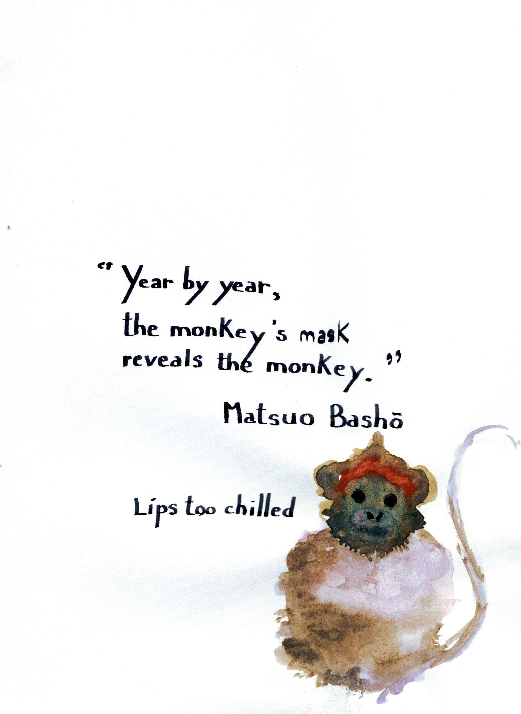 Matsuo basho year by year haiku basho quotes