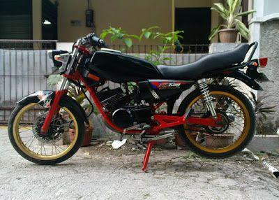 Foto Gambar Modifikasi Motor Rx King Warna Hitam Motor Gambar