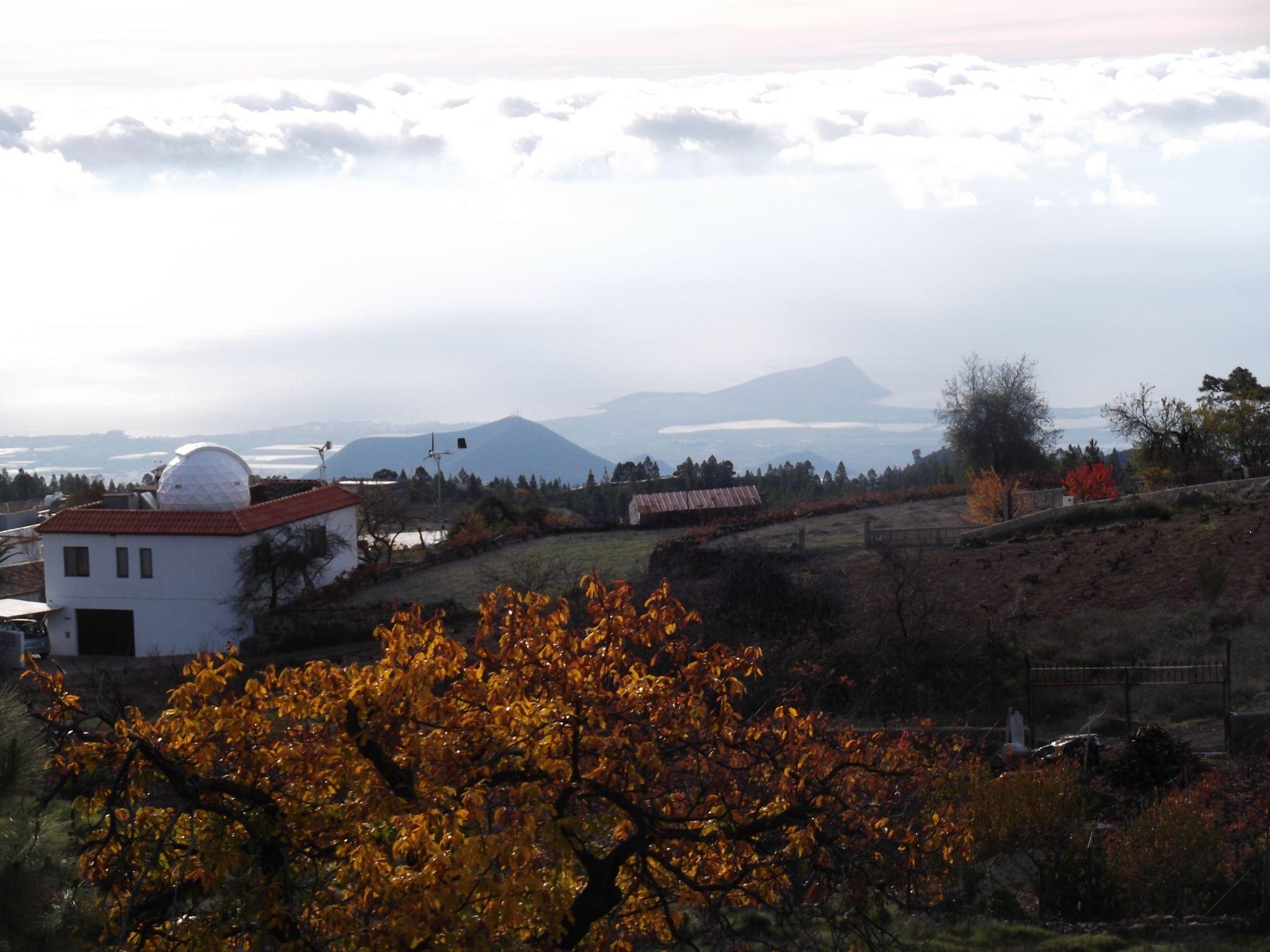 Looking down toward El Medano from Vilaflor