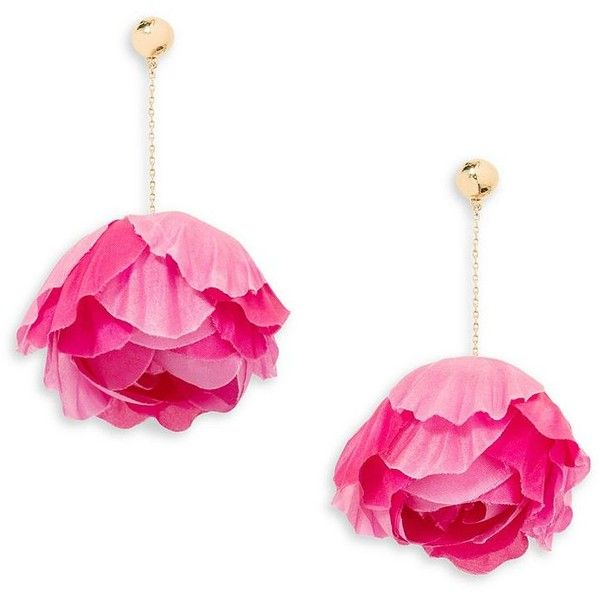 sparky bling fuschia itm prom party s image teardrop earrings dangly pink loading crystal evening is