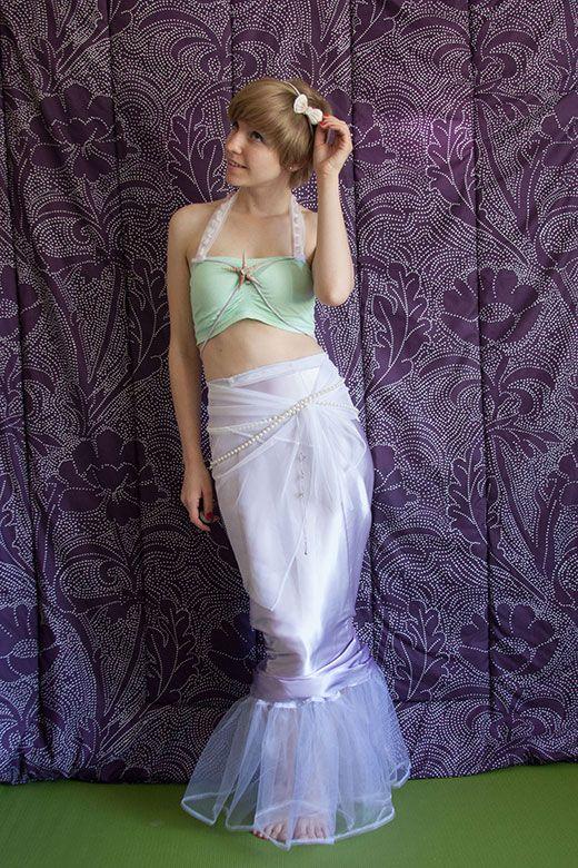 modest mermaid costume  sc 1 st  Pinterest & modest mermaid costume | Peter Pan Jr Ideas | Pinterest | Mermaid ...