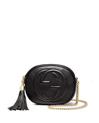 60a21a451bc Soho Leather Mini Chain Bag