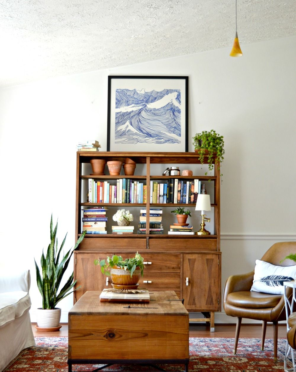 Restored Mid-Century China Cabinet | Living Room | Mid ...