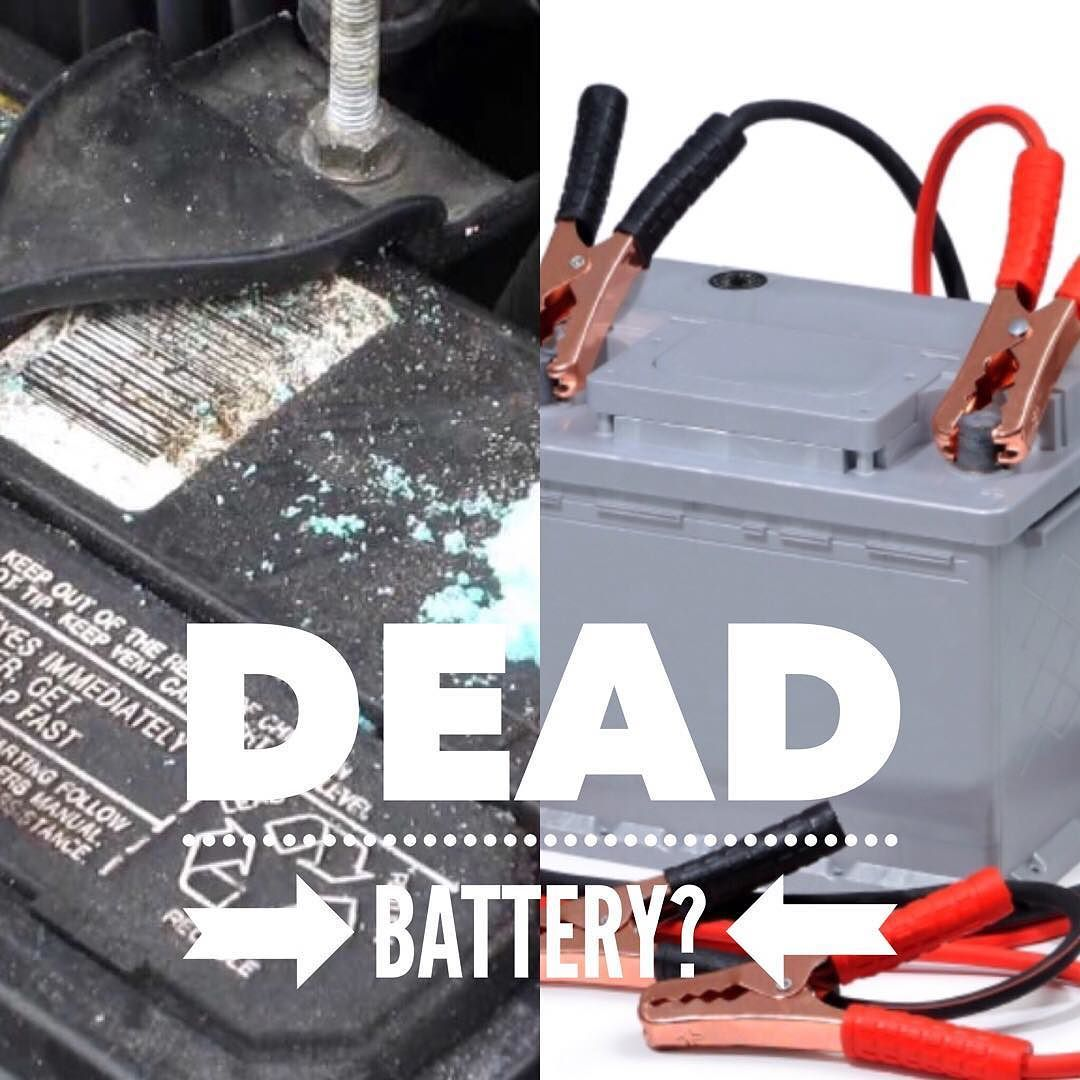 Dead batteries are most common when the temp changes hot