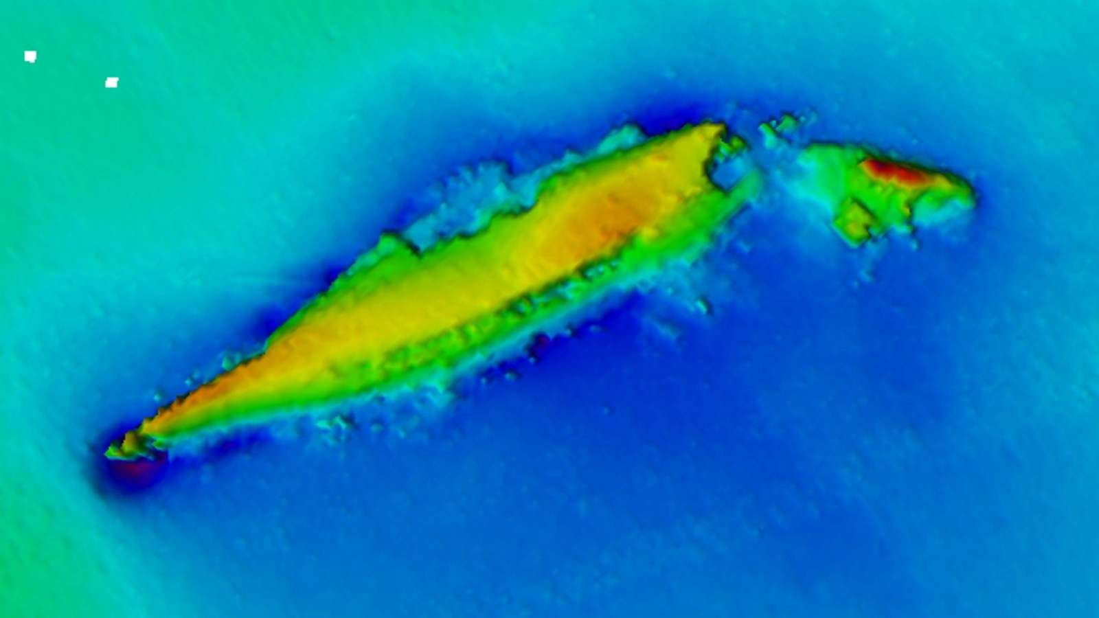 Sunken Wrecks Of Epic Wwi Naval Battle Revealed With