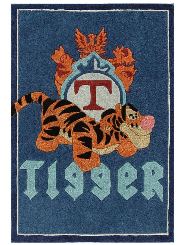 Kinder Teppich Kinderteppich mit Tigger von Winnie the Pooh ...