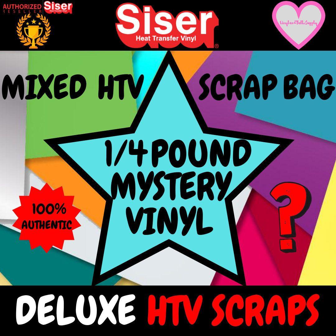 Deluxe Mixed Siser Vinyl Scrap Bag Quarter Pound 1 4 Pound Vinyl Htv Vinyl Scraps Heat Transfer Vinyl Htv Siser Vinyl Htv Vinyl Heat Transfer Vinyl
