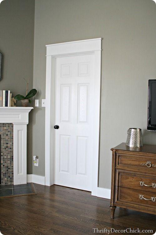 My Love Chunky Trim White Doors House Trim Doors Interior