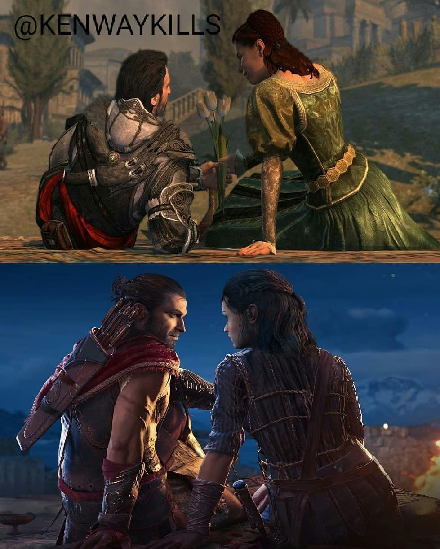 Kyra X Alexios Assassins Creed Art Assassins Creed Assassin S