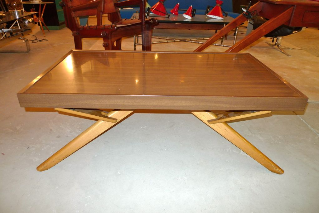 Convertible cocktailconsoledining table from a unique