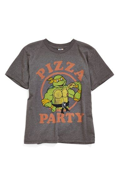 44e1b2a12 Junk Food 'Teenage Mutant Ninja Turtles - Pizza Party' Graphic T-Shirt  (Toddler Boys & Little Boys) available at #Nordstrom