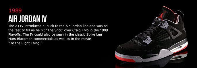 wholesale dealer 9831b 30fdb History of Air Jordan 4 | My Favorite J's | Adidas sneakers ...