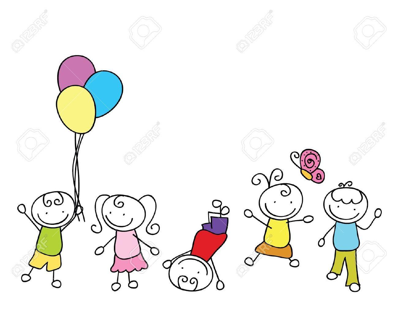 Niño Feliz Caricatura - Buscar Con Google