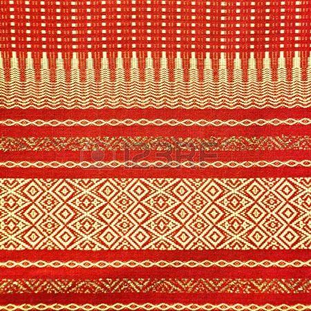 Thai silks fabric
