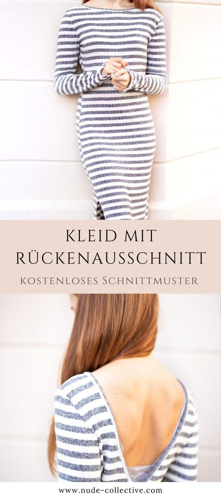 Photo of Strickkleid nähen – kostenlose Anleitung & Schnittmuster • NUDE