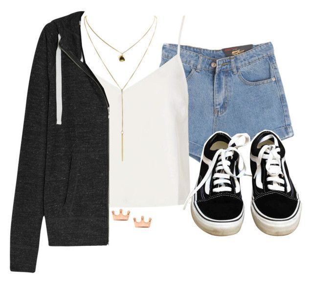 """""""Sin título #163"""" by euberriz ❤ liked on Polyvore featuring Chicnova Fashion, Motel, Vans, NIKE and Mminimal"""