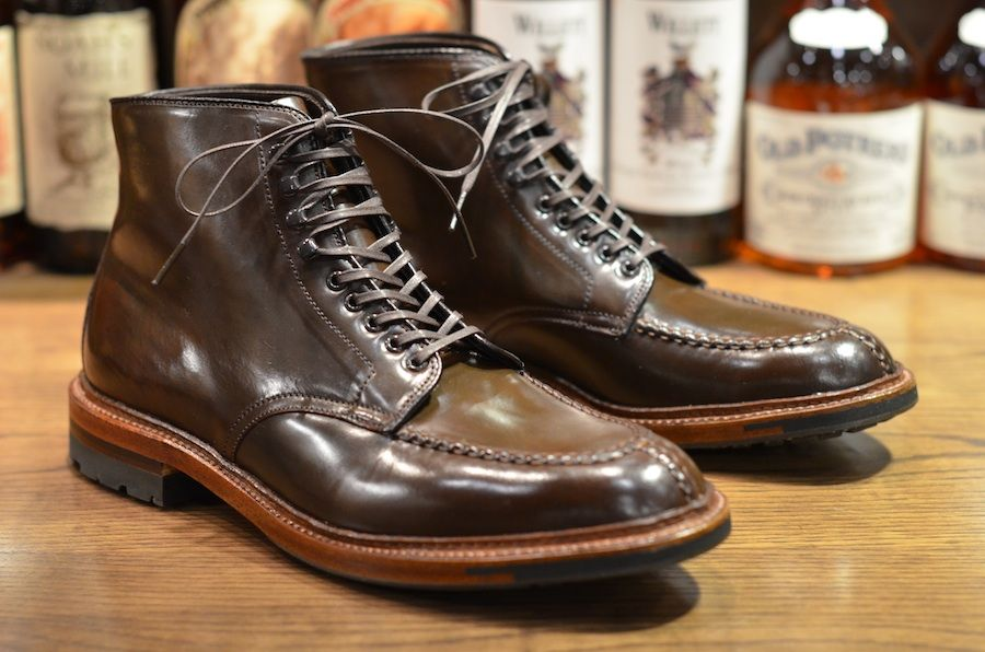 Alden Shoe – Cigar Tanker Boot (LSW