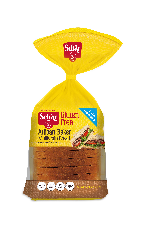 [4.98] Schär Gluten Free Artisan Baker Multigrain Bread
