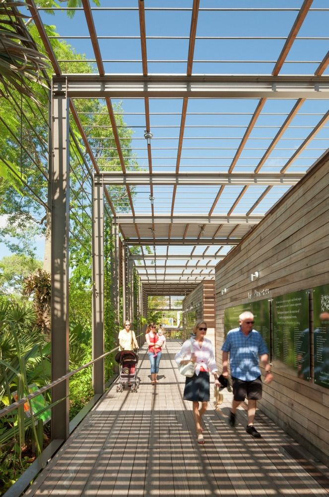 Gallery   Naples Botanical Garden Visitor Center / Lake|Flato Architects   5