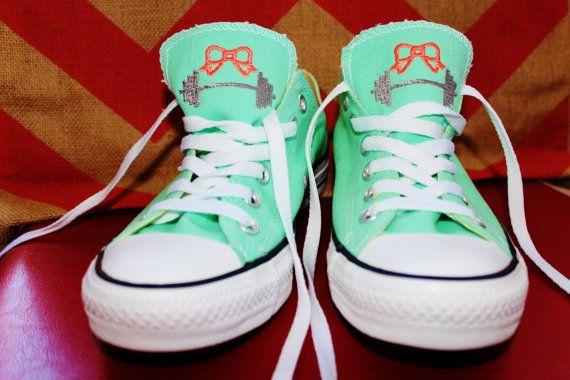 6df96c014e9 Monogrammed Crossfit Inspired Converse Shoes by DashForward
