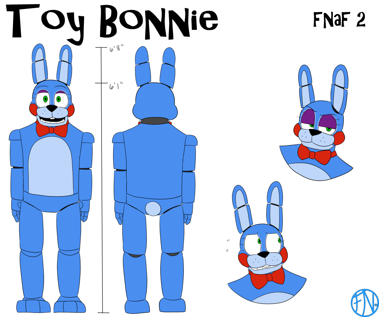 """""""ALL FNAF-related"""" FNAFNations' Reference Sheet (Part 2"""